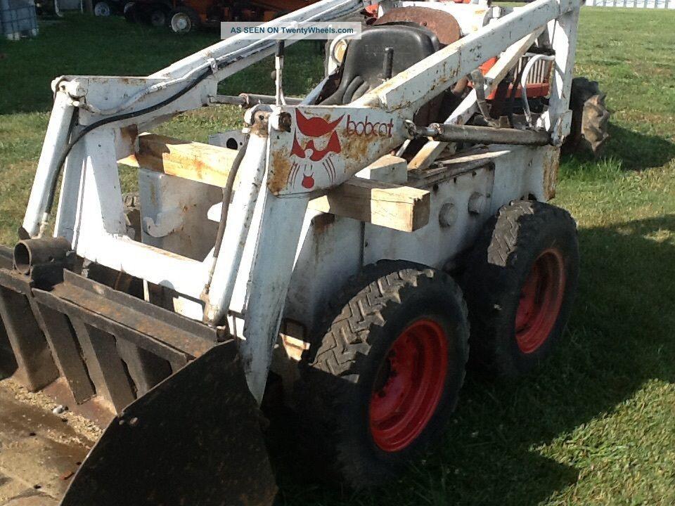 Bobcat M 610 Diesel Skid Steer Loader Dultz Diesel