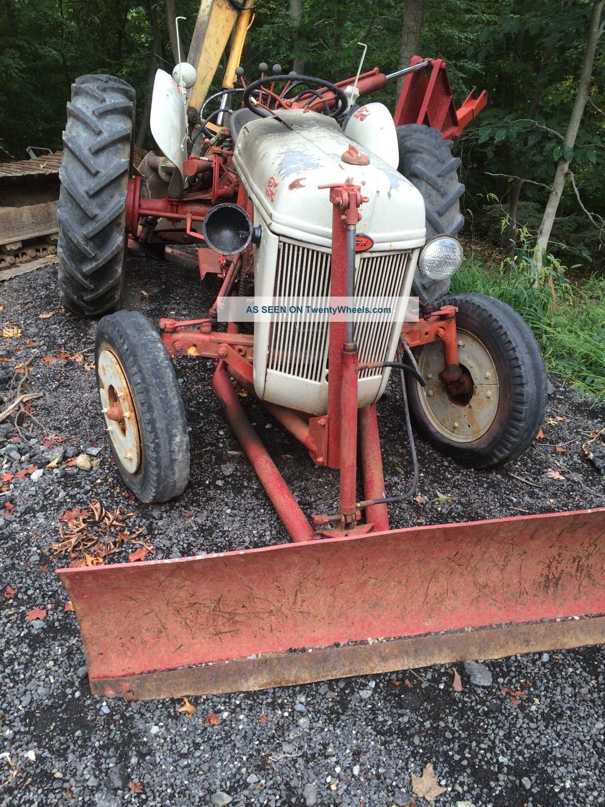 Sherman Backhoes For Ford Tractors : Ford n tractor with backhoe sherman hi lo range dozer