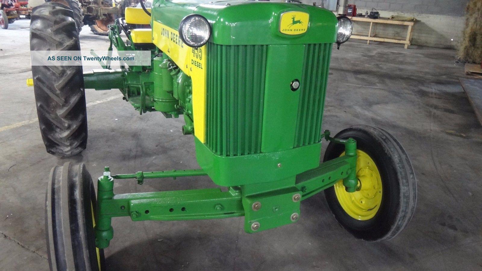John Deere Diesel Tractor Ie Detroit Lgw
