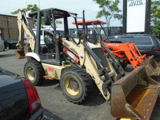 2004 Tractor Ldr Backhoe Front End Loader Bl370b Same As Bobcat Like Kabota L35 photo