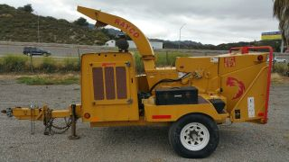 Rayco Rc1220,  Only 300 Hours Documented,  Cat Diesel 110 Hp,  12x20.  20 Feed Wheel. photo