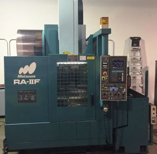 1995 Matsuura Ra Iif Cnc Vertical Machining Center photo