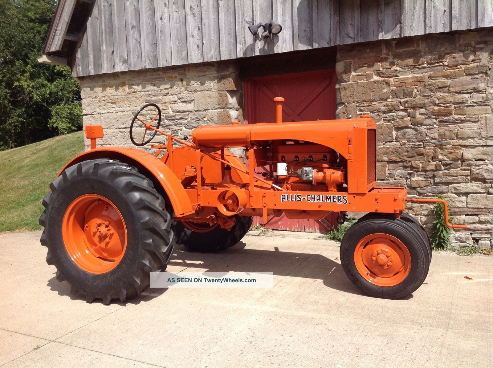 30596 Antique tractor allis   chalmers 1938 w   c