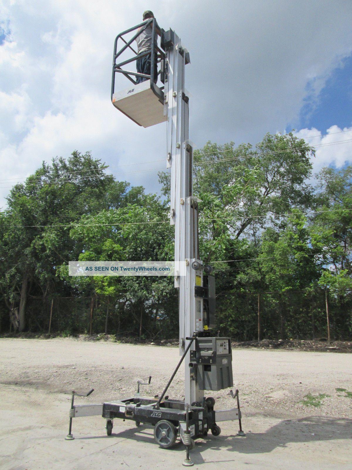 Jlg 25am 2007 Personnel Man Vertical Lift Manlift Boom