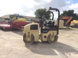 2004 Ingersoll - Rand Dd34hf Double Drum Vibratory Roller photo