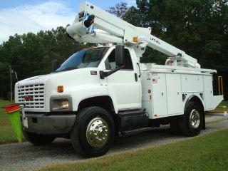 2007 Chevrolet Gmc 47 ' Lift - All Telescopic C - 7500 Bucket Truck One Man C7 Cat Diesel photo