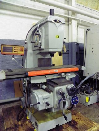 Enshu Model Vf2 Vertical Mill Milling Machine 50 Taper photo