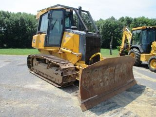2008 John Deere 700j Lt Crawler Dozer,  Cab,  Air,  U/c Work Done,  Only 5457 Hours photo