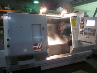 Haas Sl - 30 Cnc Turning Center With Servo 300 Barfeed 10