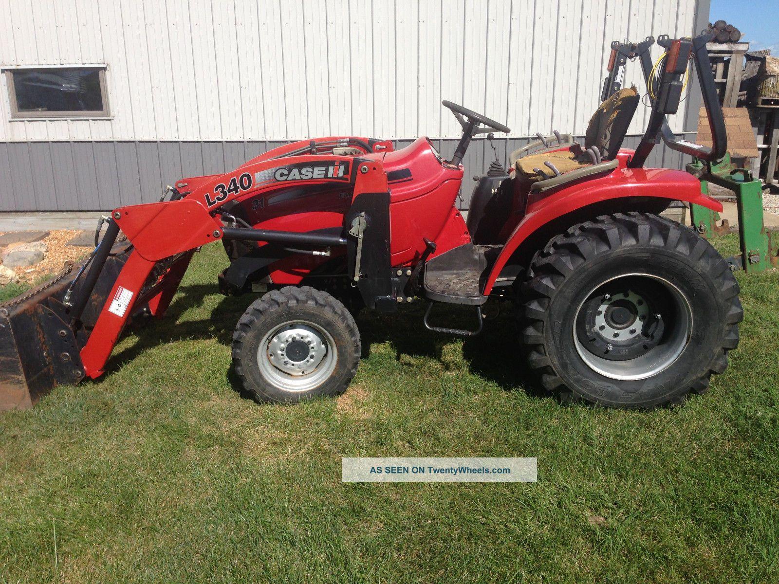 Caseih Farmall 31 Compact Utility Tractor L340 Loader Bucket