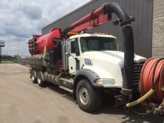 2006 Vactor Combo Unit On 2005 Mack Chassis (trade - In) photo