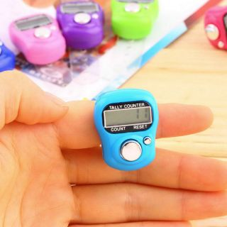 Stitch Marker And Row Finger Counter Lcd Electronic Digital Tally Counter Ea photo