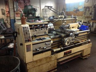 Jet 14 X 40 Lathe photo