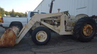 440 John Deere Diesel Tractor 1960 - Industrial 430 435 Detroit Front End Loader photo