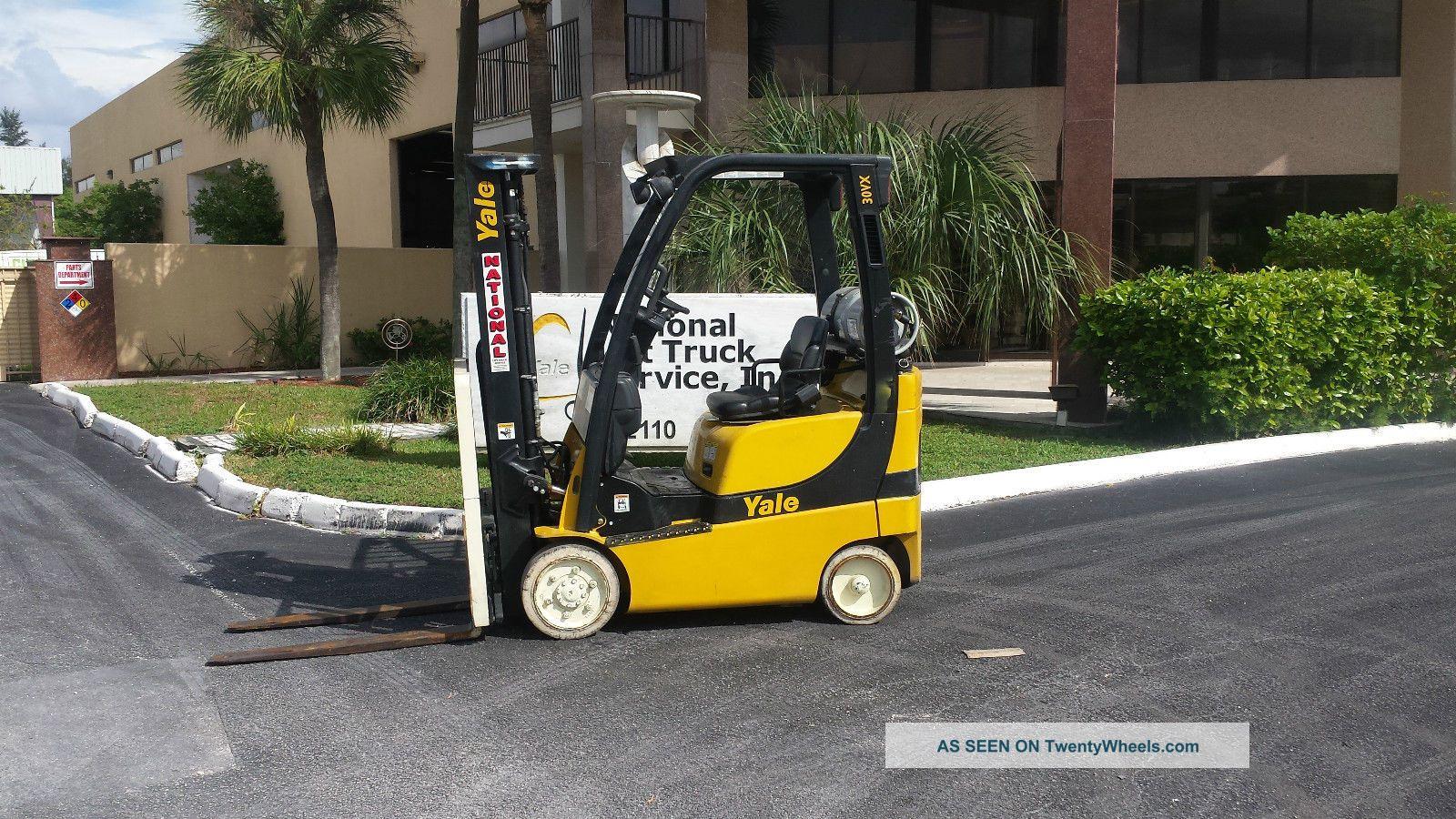 2008 Yale Forklift Glc030