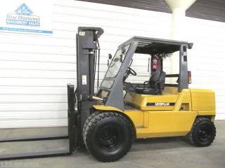 Cat Dp50k,  10,  000 Lb Diesel Forklift,  Triple,  Fork Pos. ,  Sideshift,  2,  078 Hours photo