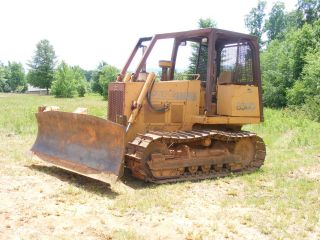 1989 Case 850 - D Bulldozer Sixway Blade / photo