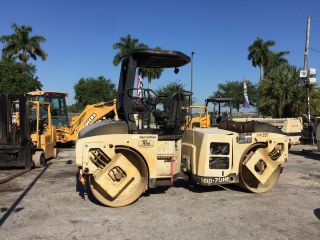 2004 Ingersoll - Rand Dd70 - Hf Double Drum Vibratory Roller photo