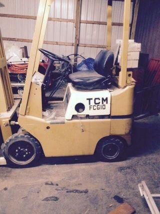 Tcm Fcg10 Forklift,  Very, photo