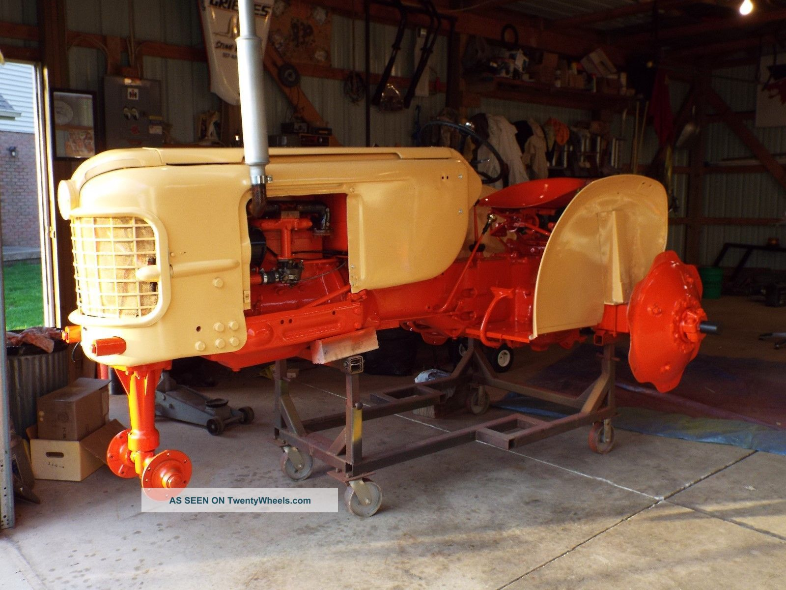 1956 Case Tractor : Case tractor model