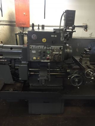 Warner Swasey No.  4 Square Head Turret Lathe photo
