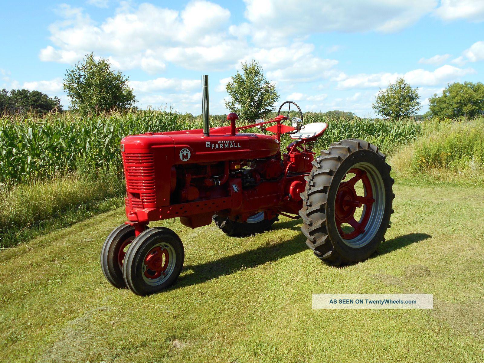 Farmall M Specifications : Farmall tractor
