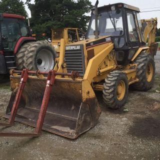 Cat 416b 4x4 Ex Boom In Pa photo