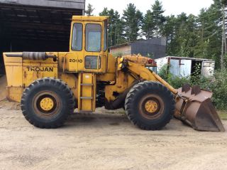Yale Trojan 2000 Front End Wheel Loader Diesel Great Tires Snow Removal photo