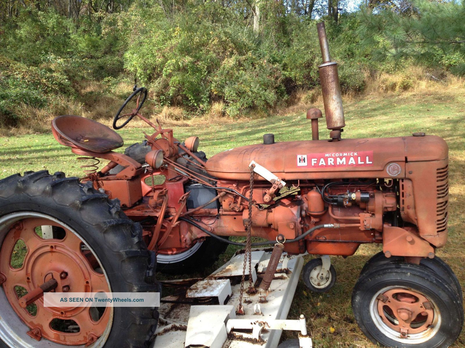 Woods Tractor Parts : Farmall woods belly mower belt diagram get free