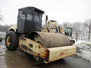 2005 Ingersoll Rand Sd105d Smooth Single Drum Roller Compactor,  Cab,  3540 Hrs photo