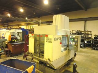 Chiron Fz 12w Vertical Machining Center,  Pallet Changer Vmc,  Cnc,  Fanuc Control photo