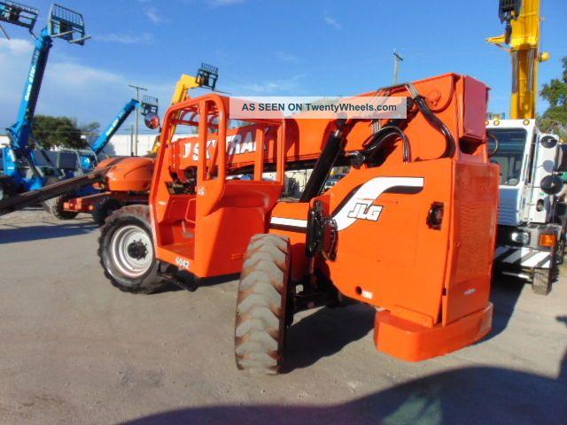 2007 Jlg Skytrak 6042 6k Lb 42ft Telehandler Forklift
