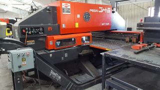 Amada Pega 345 Queen Cnc Turret Punch Press photo