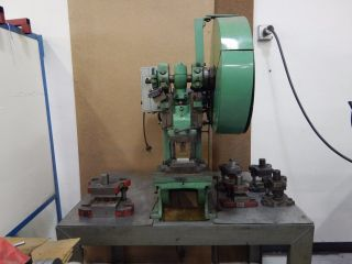 Bench Master 173 10 Ton Punch Press photo