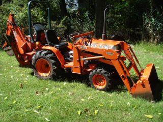 Kubota B1750hst 4x4 Backhoe Tractor photo