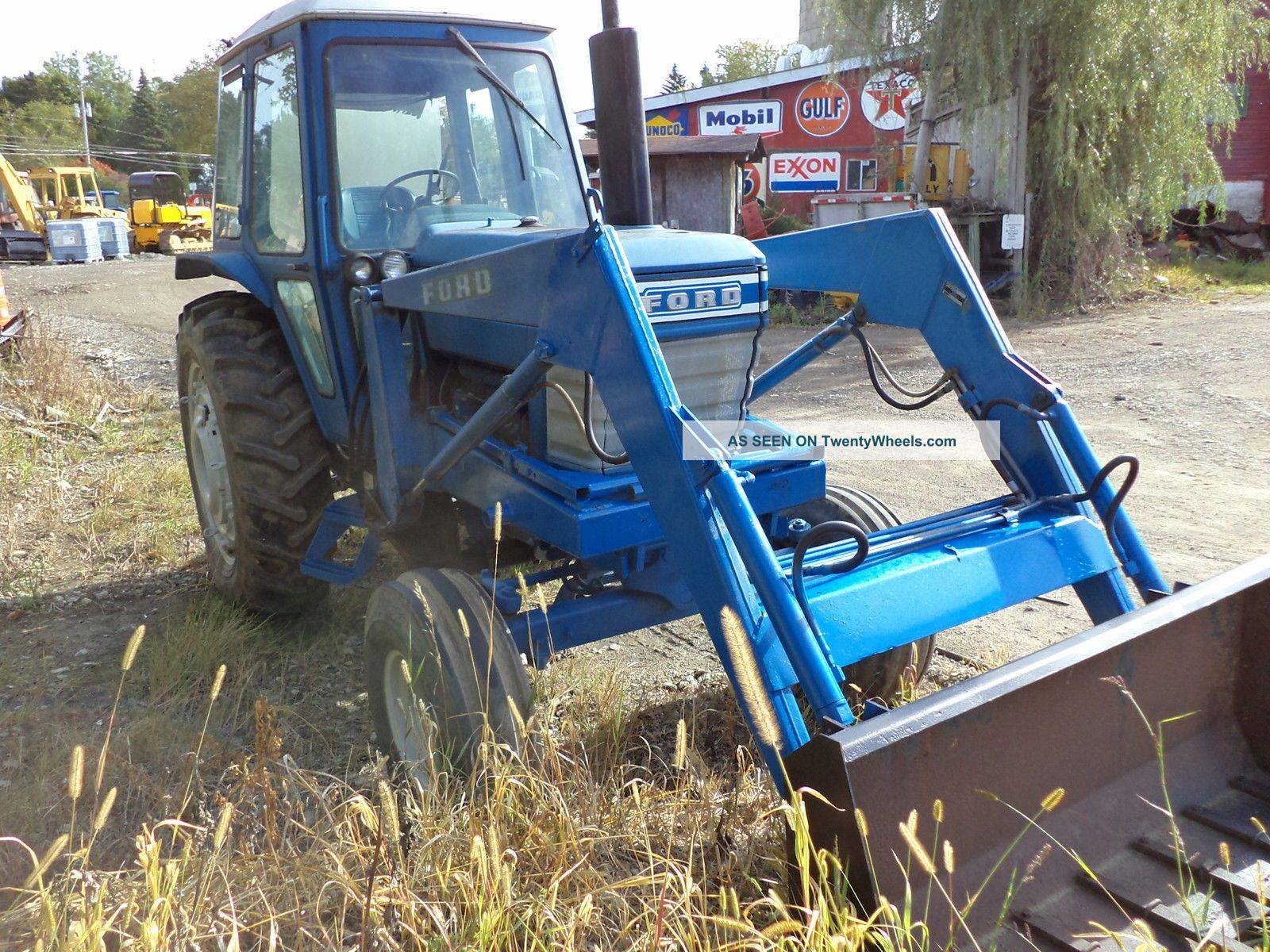 Ford Tractor Airplane : Ford tractor with loader cab diesel pto heater