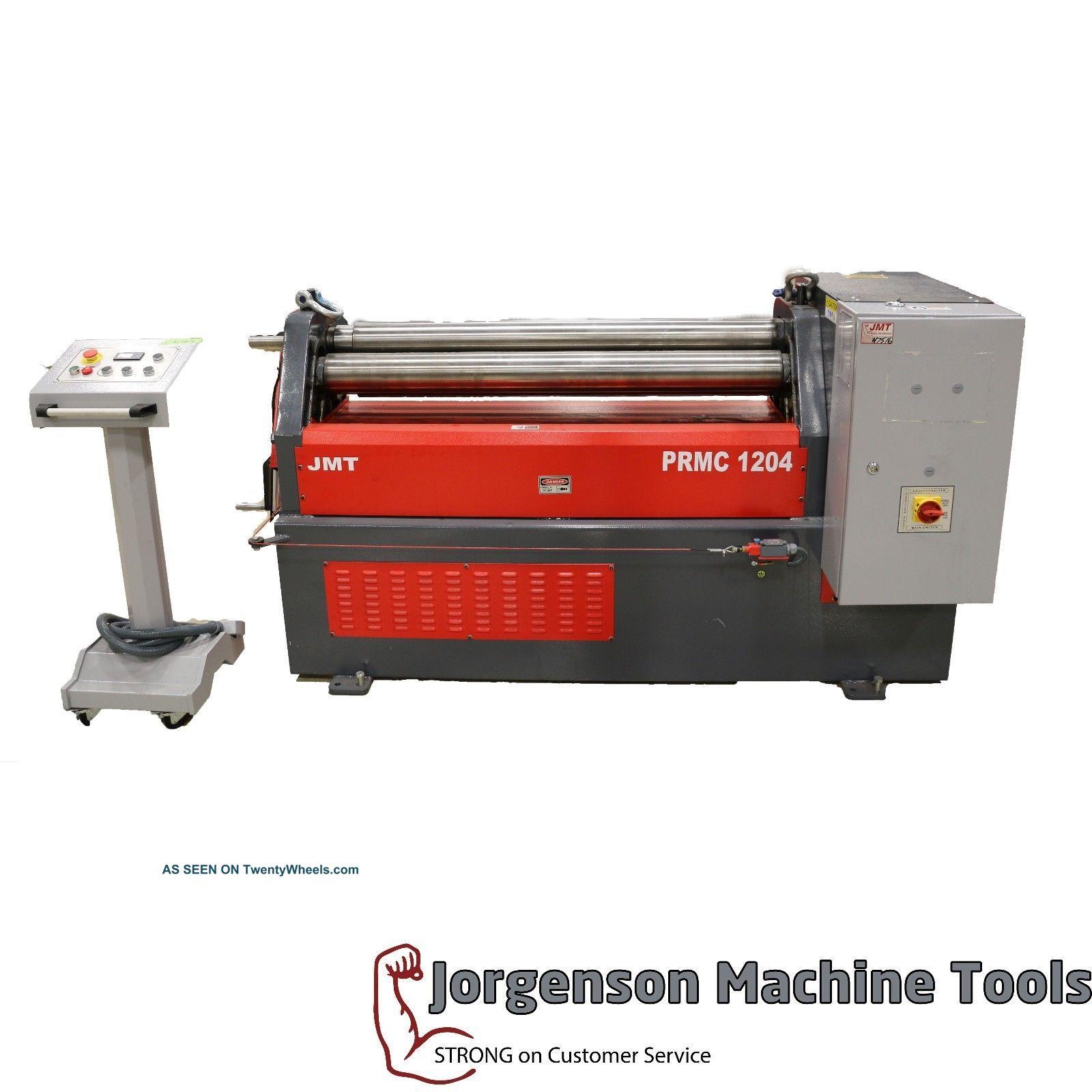 Jmt - Mrb 1204 Plate Roll Metal Bending Machines photo