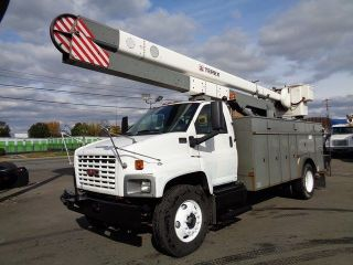 2005 Gmc 7500 53 ' Terex / Hi Ranger Bucket Boom Truck photo