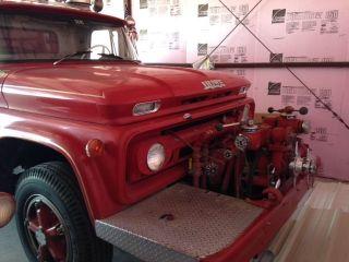 1963 Chevy Howe Pumper Truck photo