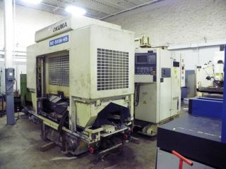 Okuma Mc - 500h - Hs Dual Pallet Cnc Horizontal Machining Center Hmc photo