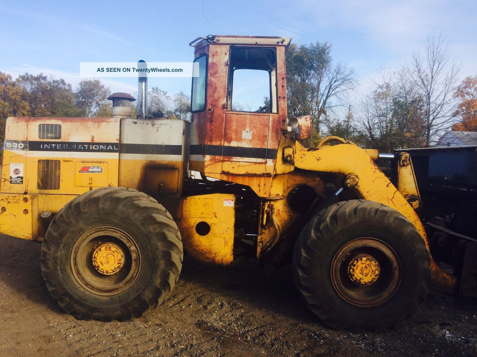 International Dresser 530 Wheel Loader