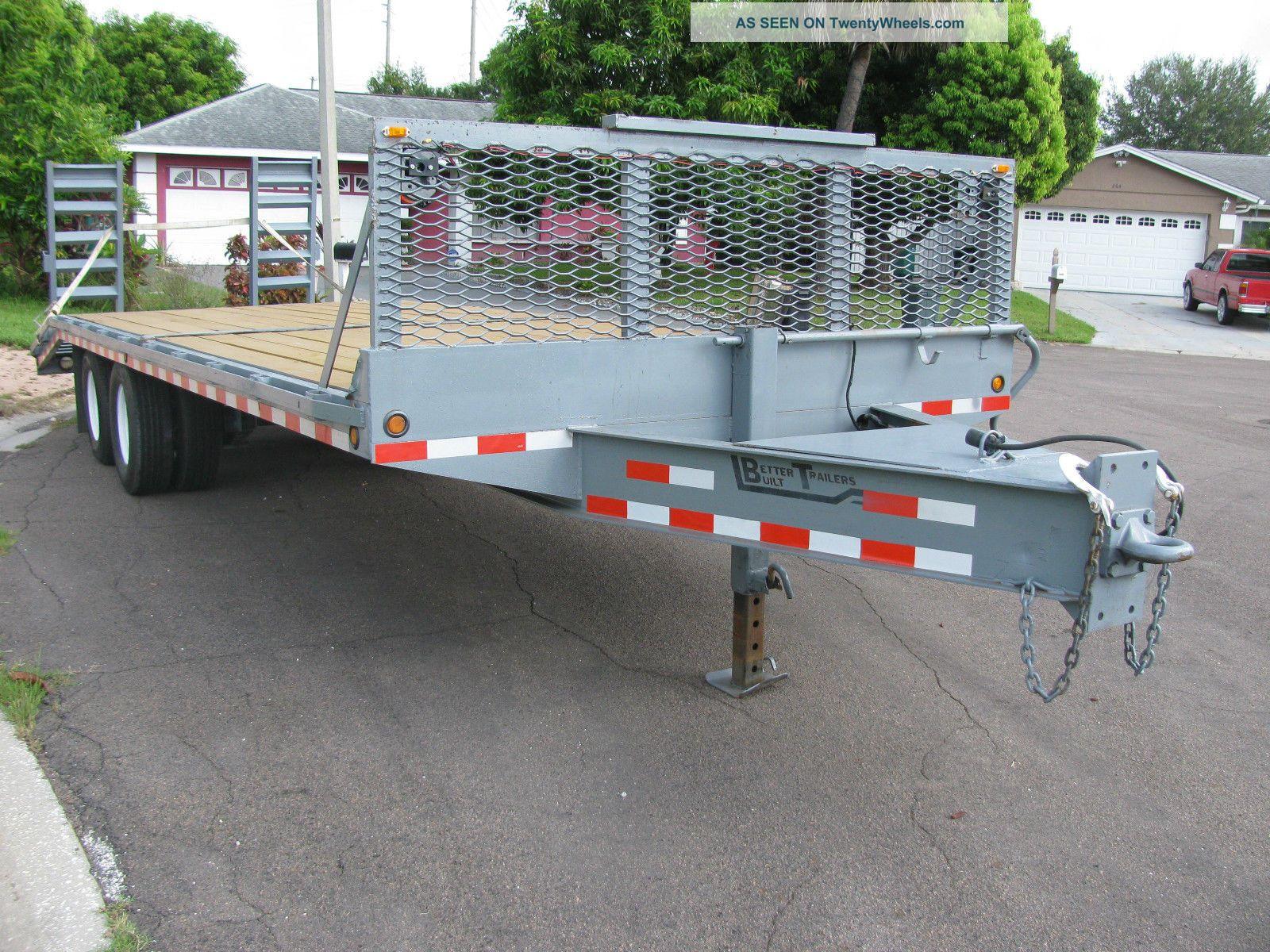 Heavy Duty Tractor Trailer : Heavy duty equipment trailer