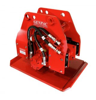Genpac Ge - 870 Hydraulic Plate Compactor / Driver photo
