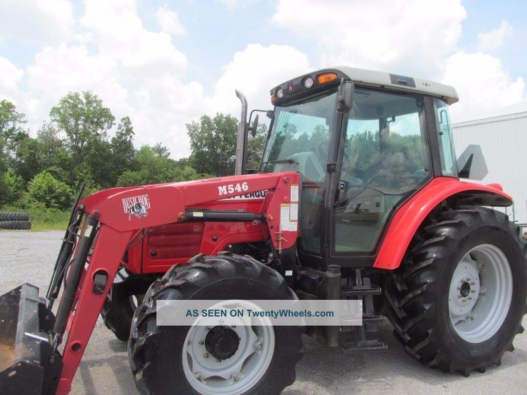 Massey Ferguson Tractor Loader Backhoe : Massey ferguson diesel farm tractor cab loader