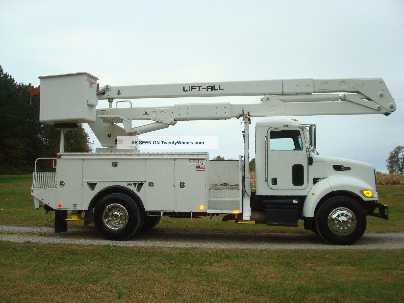 lift all bucket trucks manual