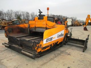 2010 Leeboy 8510b Asphalt Paver 8 ' To15 ' Paving Width,  3344 Hrs,  Propane Heat photo