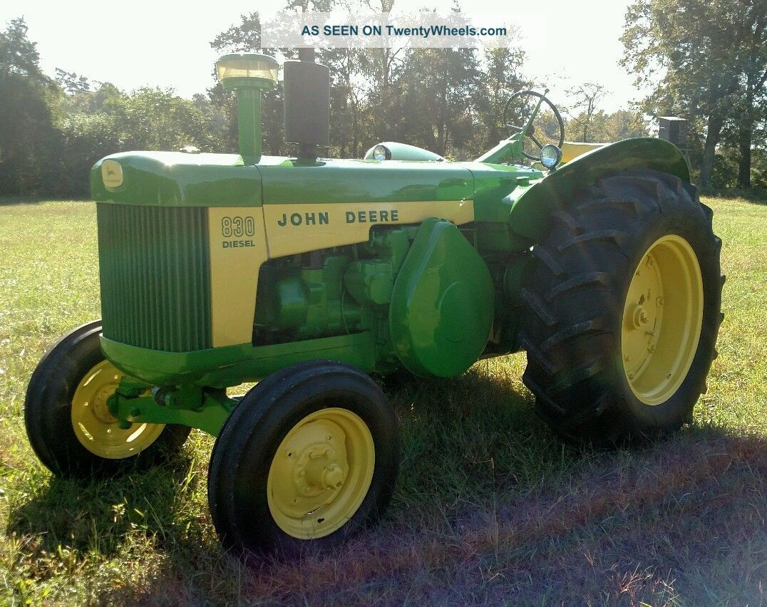 Restored Antique Tractors : John deere fully restored antique tractor