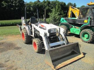 2011 Bobcat Ct122 Tractor Loader Backhoe,  4x4,  Only 426 Hours,  Has 3pt & Pto photo