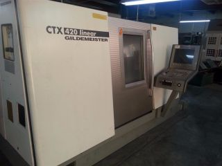 Gildemeister Ctx 420 Cnc Turning Center W Live Tooling Siemens 840d Control photo