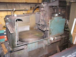 Blanchard Vertical Spindle Rotary Surface Grinder,  22d - 42,  1967 photo